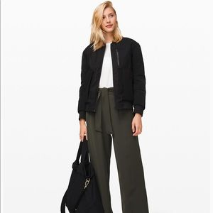 Lululemon Noir Pant- Olive Green High Waisted Pant